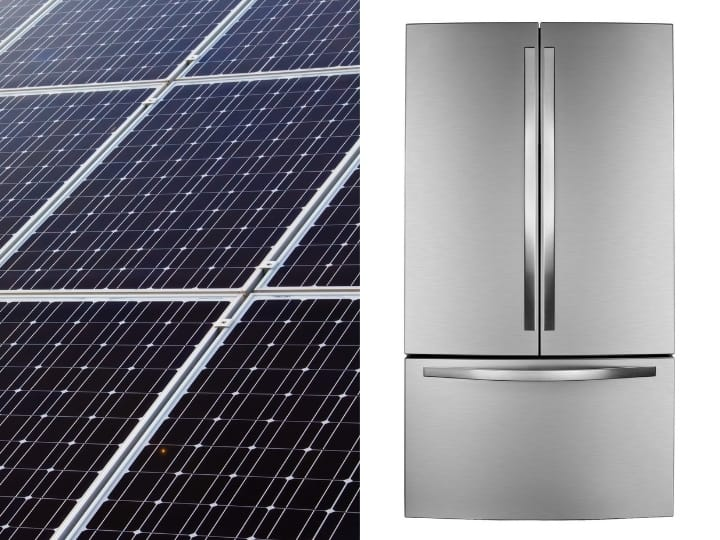 Solar Panel Running a Fridge: 12 volt Fridge +