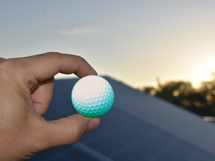 Golf Balls & Solar Panels: How Strong Are They?