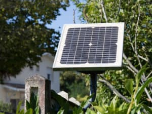 Solar Panel and Gate
