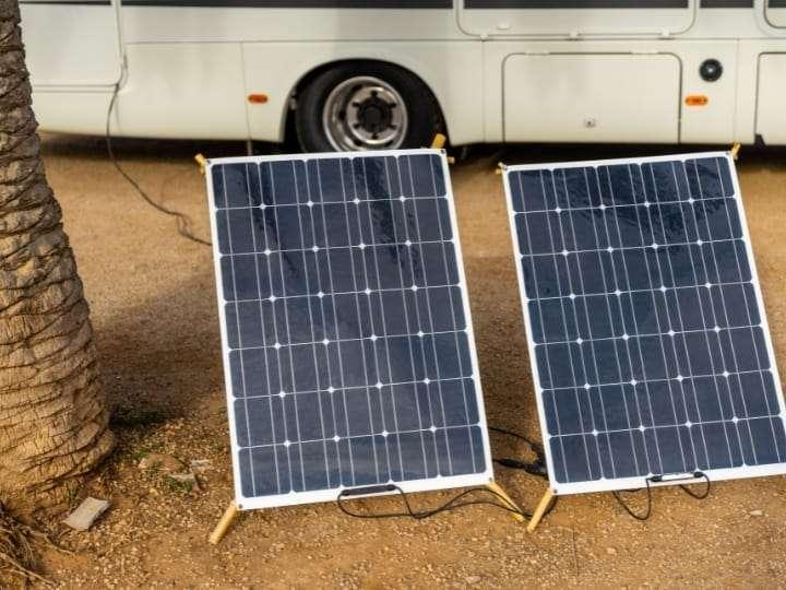 Solar Panels Ground Mounted RV