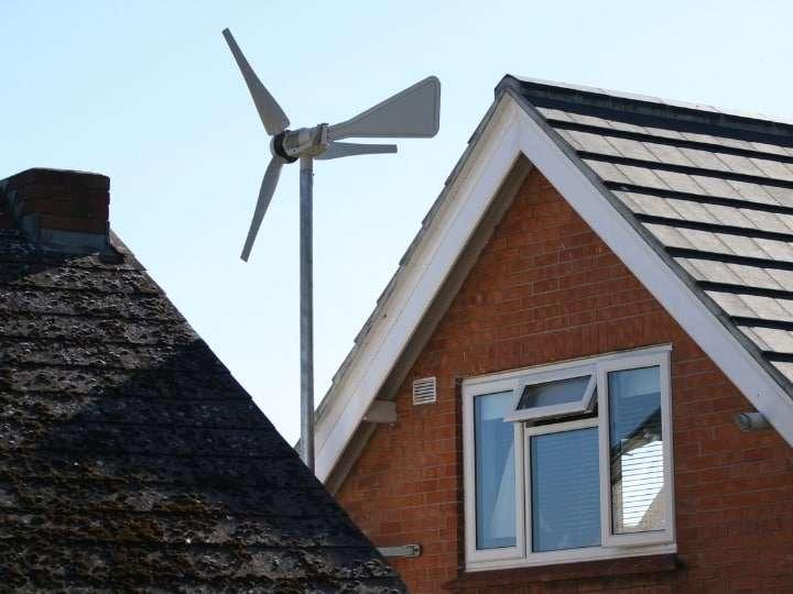 Wind Turbine House