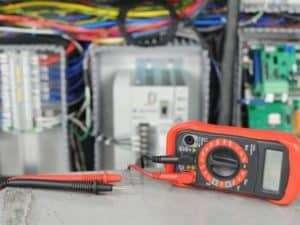 Voltage Meter Control Panel