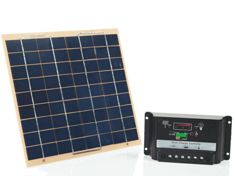 Solar panel and controller